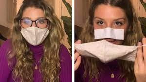 Stop foggy glasses with tissue
